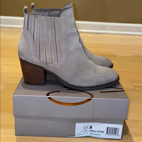 Taupe Cindy Booties